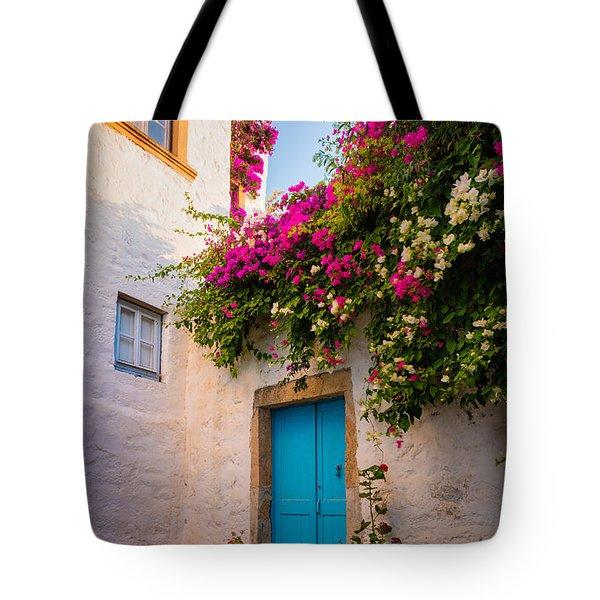 Patmos Bougainvillea Tote Bag