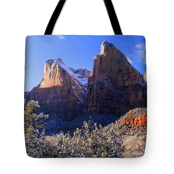Tote Bag featuring the photograph Patriarchs by Chad Dutson