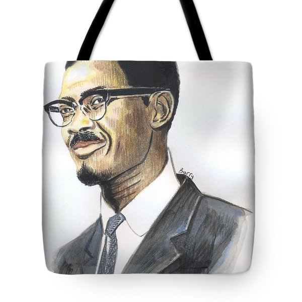 Patrice Emery Lumumba Tote Bag