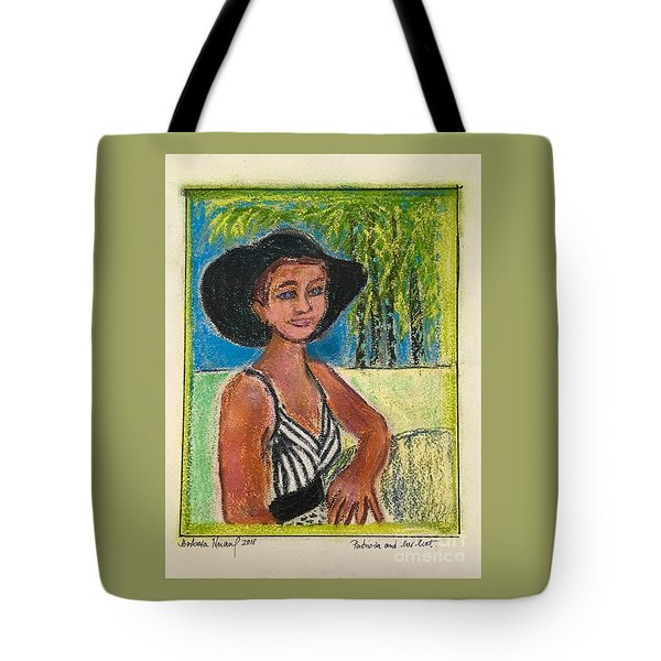 Patricia And Her Hat Tote Bag