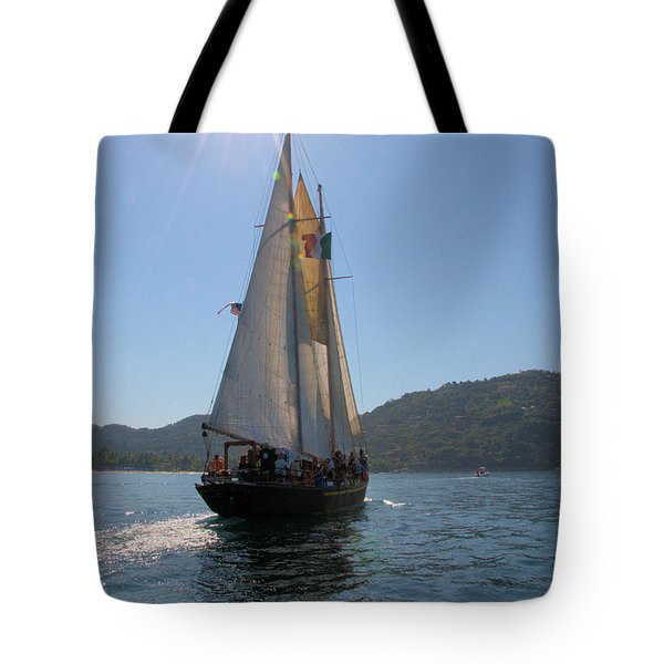 Tote Bag featuring the photograph Patricia Belle 03 by Jim Walls PhotoArtist
