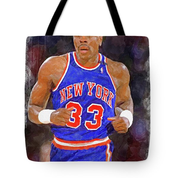 Patrick Ewing Paint Tote Bag