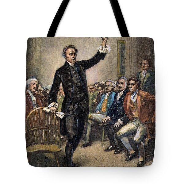 Patrick Henry (1736-1799) Tote Bag by Granger