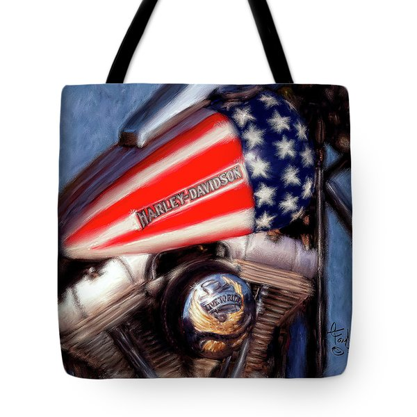 Live To Ride Tote Bag by Colleen Taylor