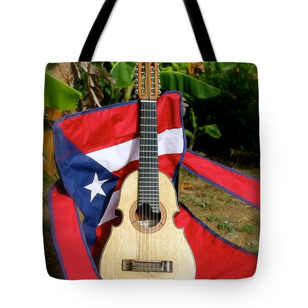 Patriotic Cuatro Tote Bag