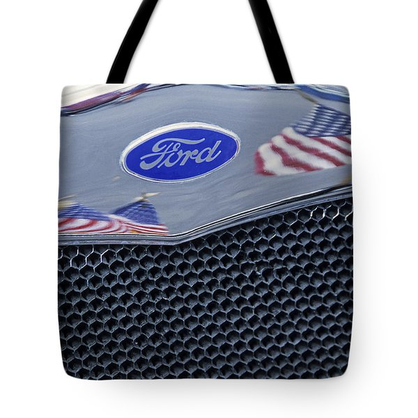 Patriotic Ford Tote Bag