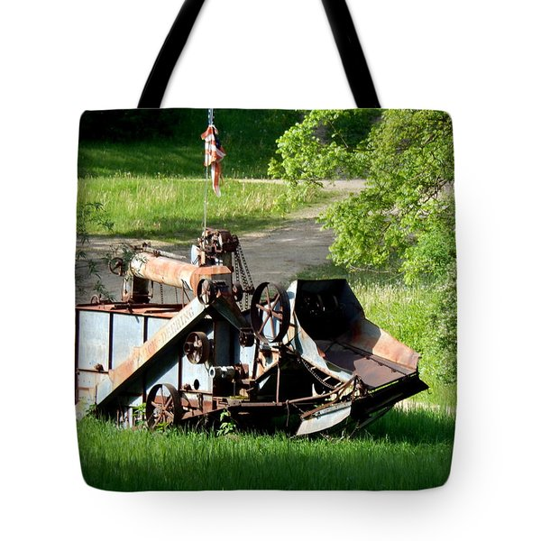 Patriotic Rust Tote Bag