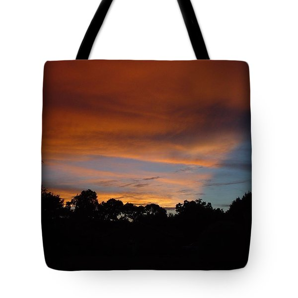 Patriotic Sunset Tote Bag
