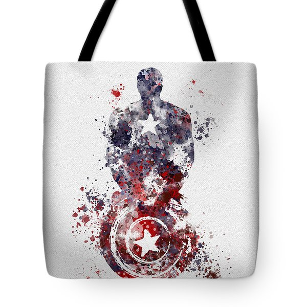 Patriotic Supersoldier Tote Bag