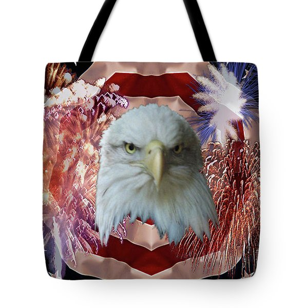 Patriotic Tribute Tote Bag