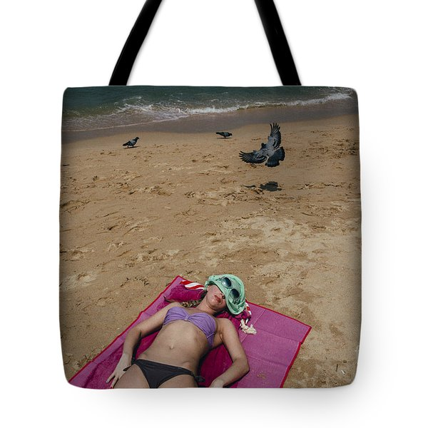 Tote Bag featuring the photograph Pattaya Beach by Setsiri Silapasuwanchai