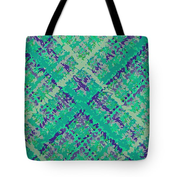 Tote Bag featuring the digital art Pattern 185 by Marko Sabotin