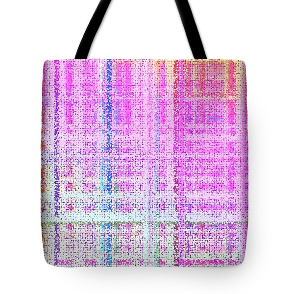 Tote Bag featuring the digital art Pattern 193 by Marko Sabotin