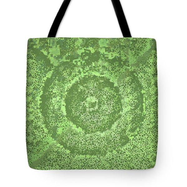 Tote Bag featuring the digital art Pattern 194 by Marko Sabotin