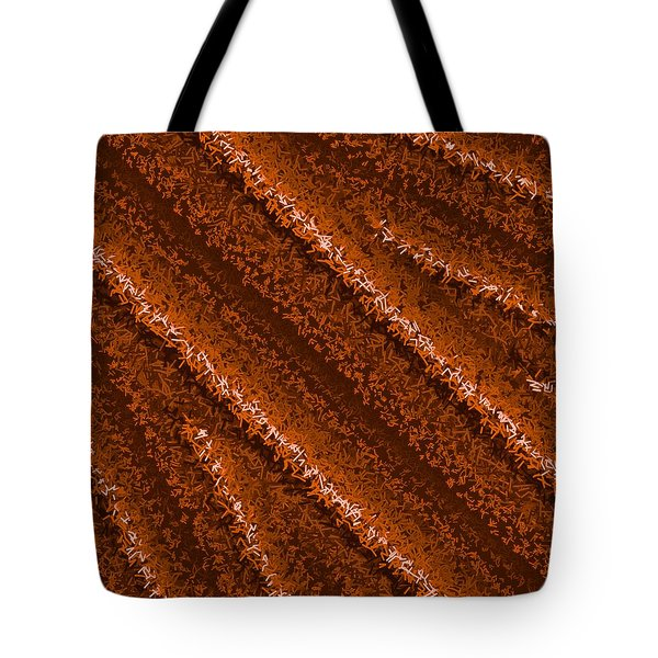 Tote Bag featuring the digital art Pattern 196 by Marko Sabotin