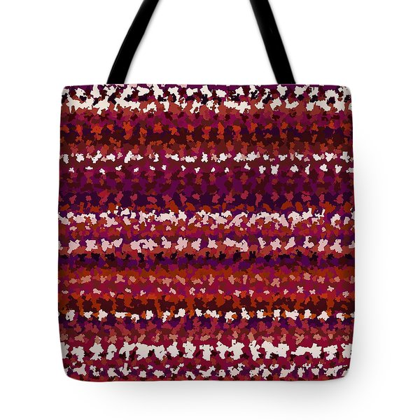 Tote Bag featuring the digital art Pattern 197 by Marko Sabotin