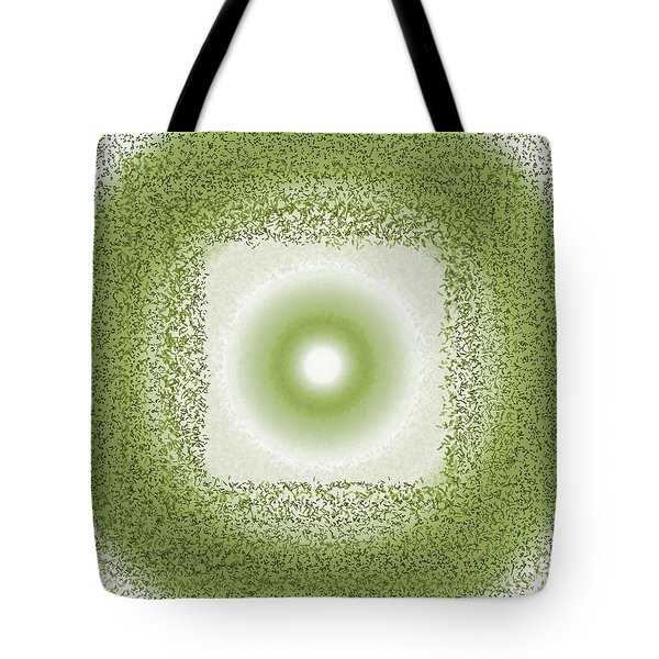 Tote Bag featuring the digital art Pattern 198 by Marko Sabotin
