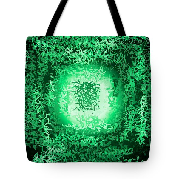 Tote Bag featuring the digital art Pattern 199 by Marko Sabotin