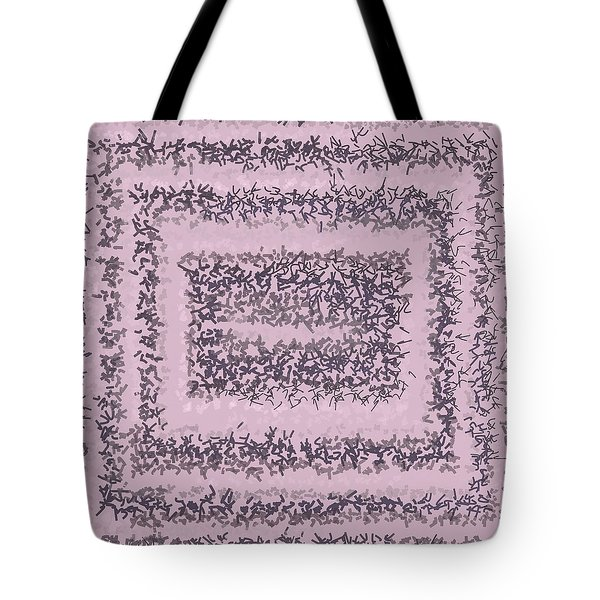 Tote Bag featuring the digital art Pattern 200 by Marko Sabotin
