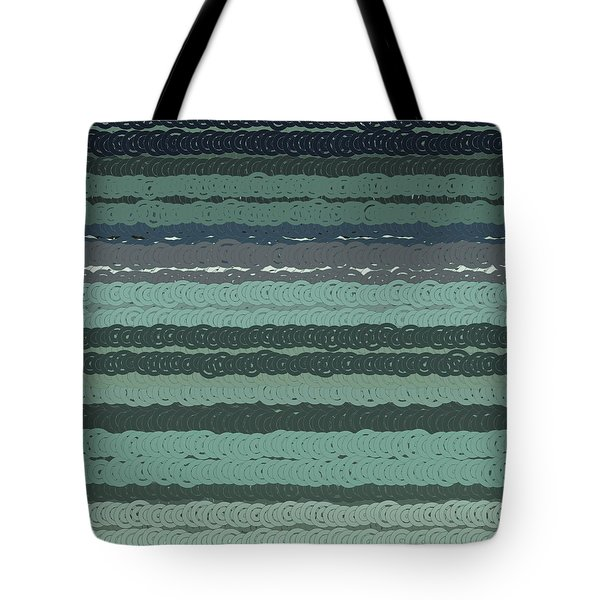 Tote Bag featuring the digital art Pattern 203 by Marko Sabotin