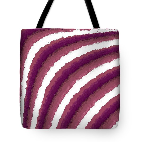Tote Bag featuring the digital art Pattern 205 by Marko Sabotin