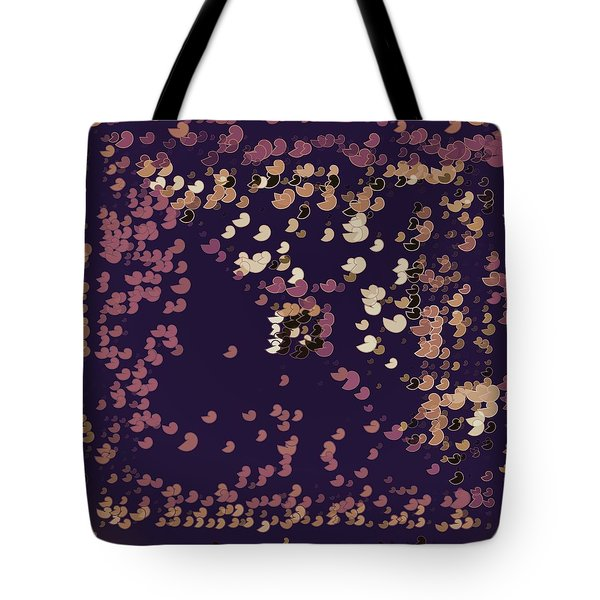 Tote Bag featuring the digital art Pattern 206 by Marko Sabotin
