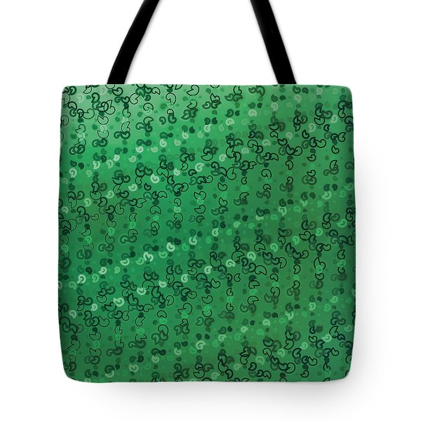 Tote Bag featuring the digital art Pattern 207 by Marko Sabotin