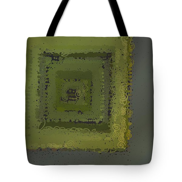Tote Bag featuring the digital art Pattern 208 by Marko Sabotin