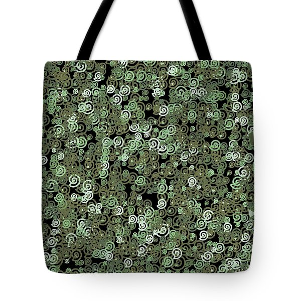 Tote Bag featuring the digital art Pattern 209 by Marko Sabotin