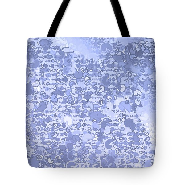 Tote Bag featuring the digital art Pattern 210 by Marko Sabotin