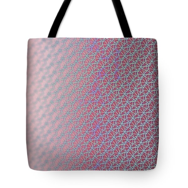 Tote Bag featuring the digital art Pattern 212 by Marko Sabotin