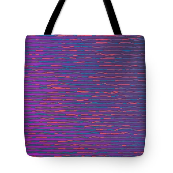 Tote Bag featuring the digital art Pattern 214 by Marko Sabotin