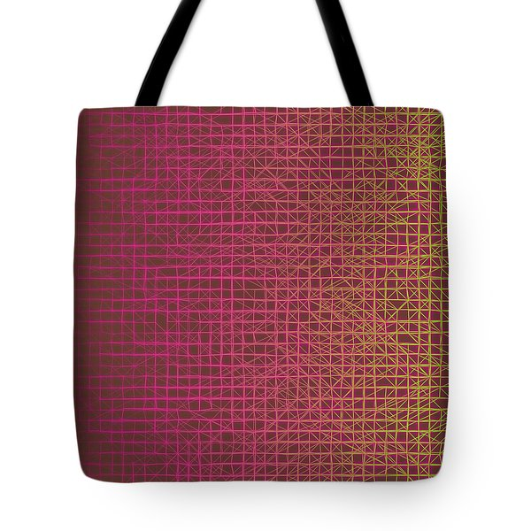 Tote Bag featuring the digital art Pattern 217 by Marko Sabotin