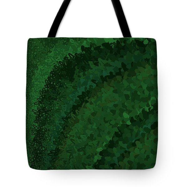 Tote Bag featuring the digital art Pattern 221 by Marko Sabotin
