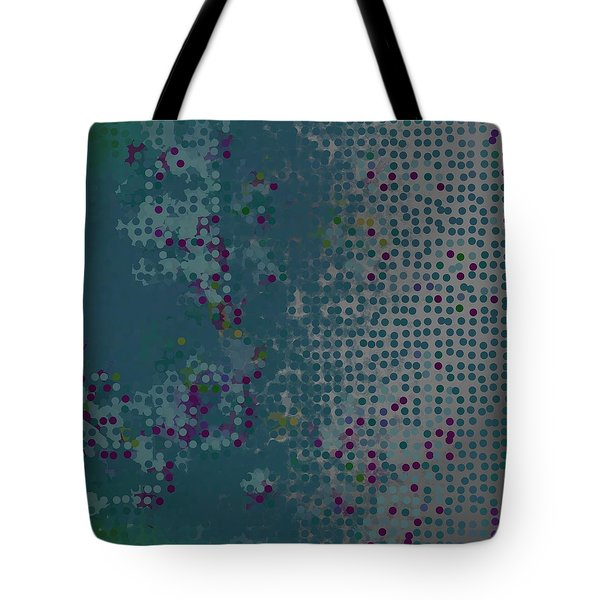 Tote Bag featuring the digital art Pattern 227 by Marko Sabotin