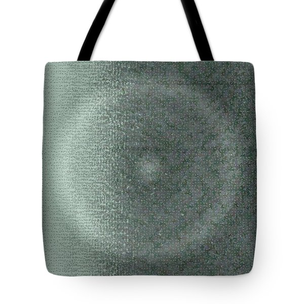 Tote Bag featuring the digital art Pattern 228 by Marko Sabotin