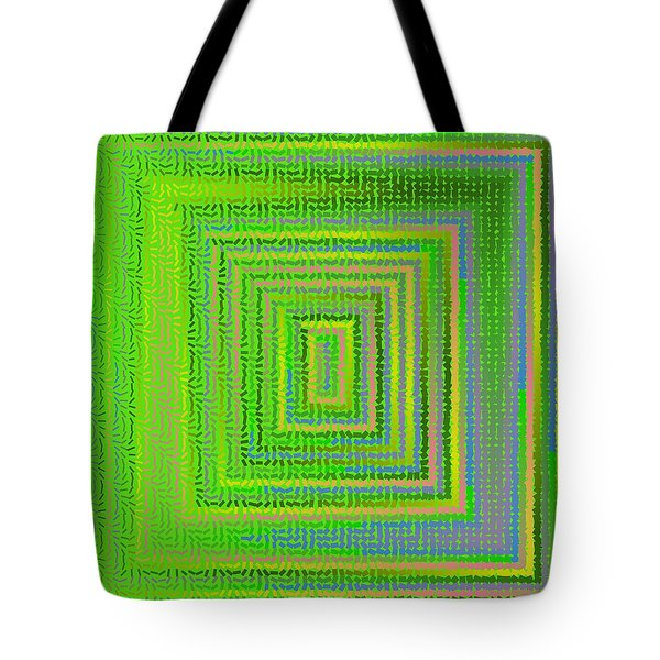 Tote Bag featuring the digital art Pattern 231 by Marko Sabotin