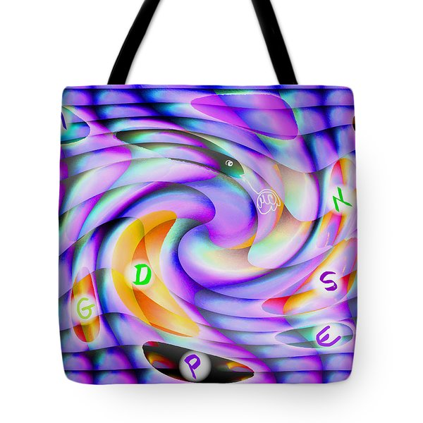 Pattern 240_ Lessons Tote Bag