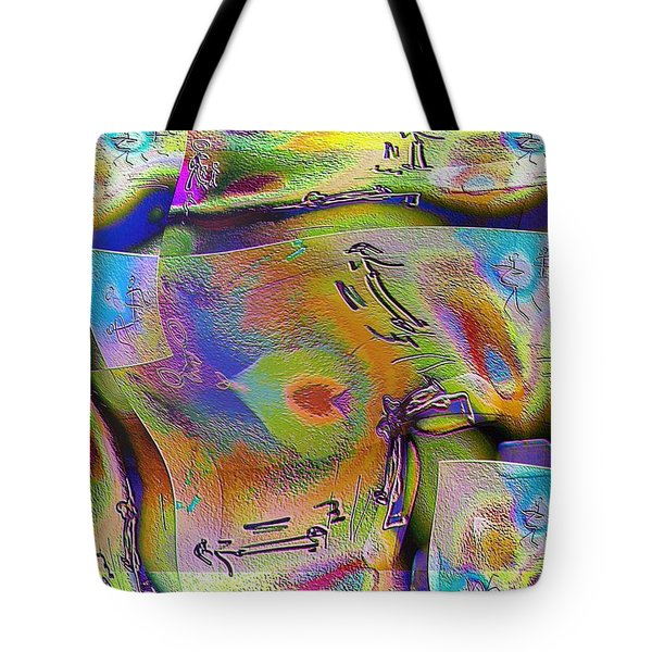 Pattern 268 _ Live Tote Bag