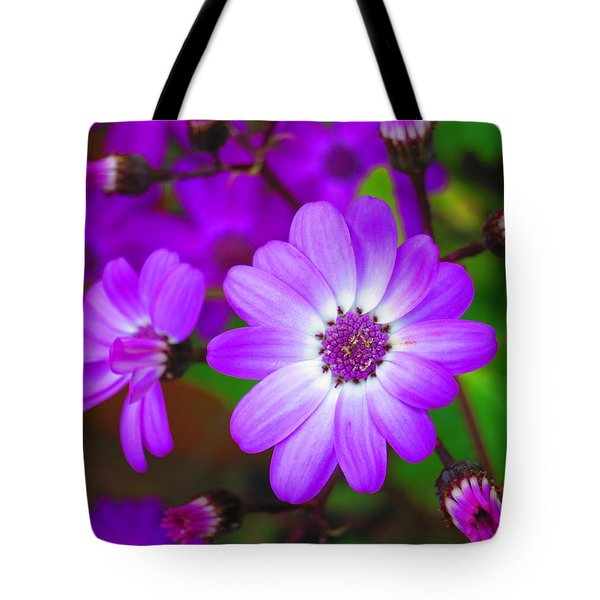 Pattern 275 _ Wild Flower Tote Bag