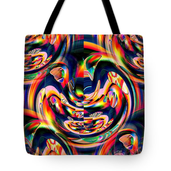 Pattern 284 _ Intensity Tote Bag
