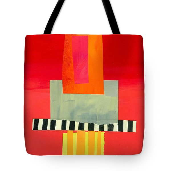 Pattern Grid # 14 Tote Bag