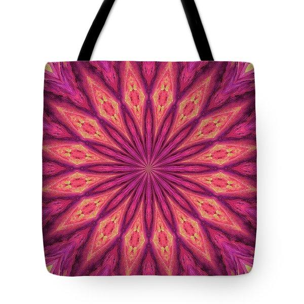 Tote Bag featuring the digital art Pattern I by Elizabeth Lock