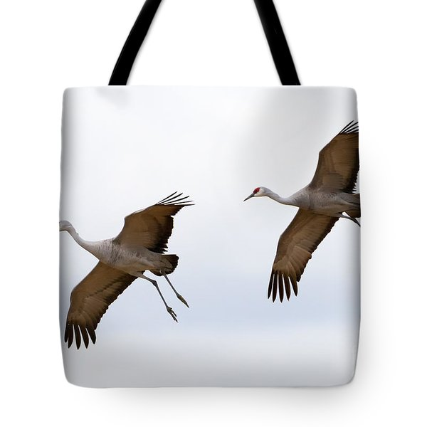 Pattern Of Two Tote Bag by Mike Dawson