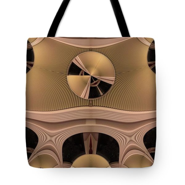 Tote Bag featuring the digital art Pattern by Ron Bissett
