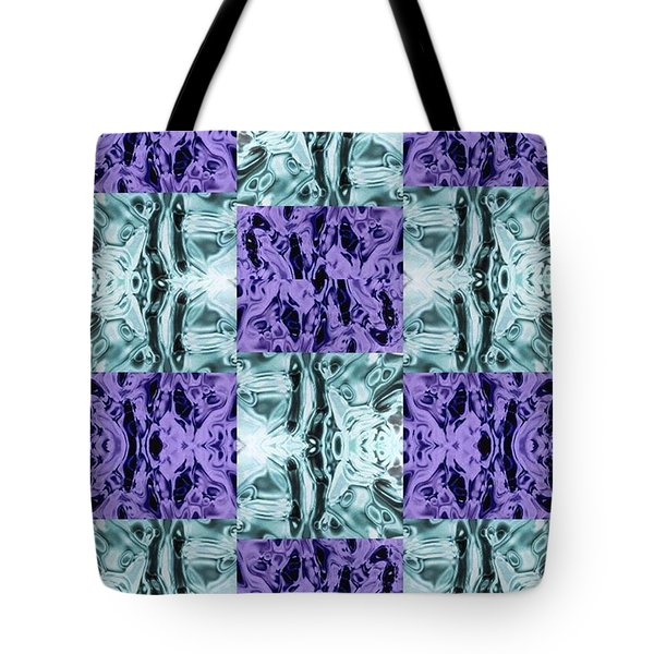 Ultra Violet  And Water  Tote Bag