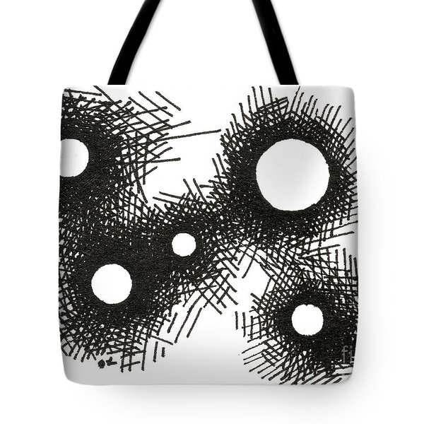 Patterns 1 2015 - Aceo Tote Bag