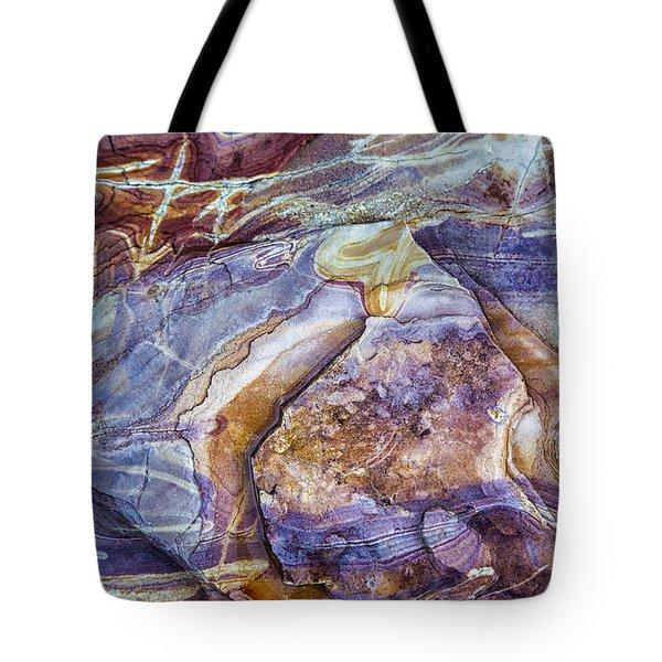 Patterns In Rock 3 Tote Bag