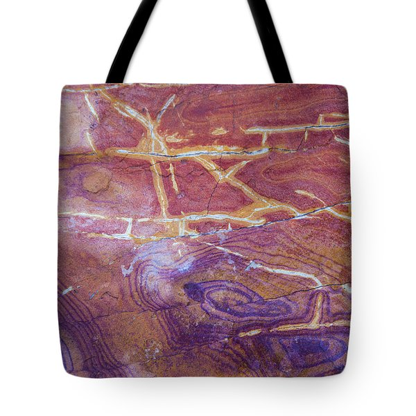 Patterns In Rock 6 Tote Bag