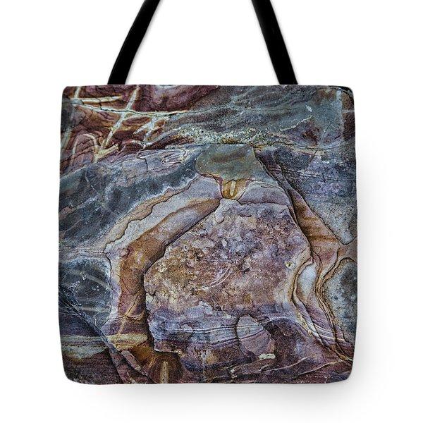 Patterns In Rock Tote Bag